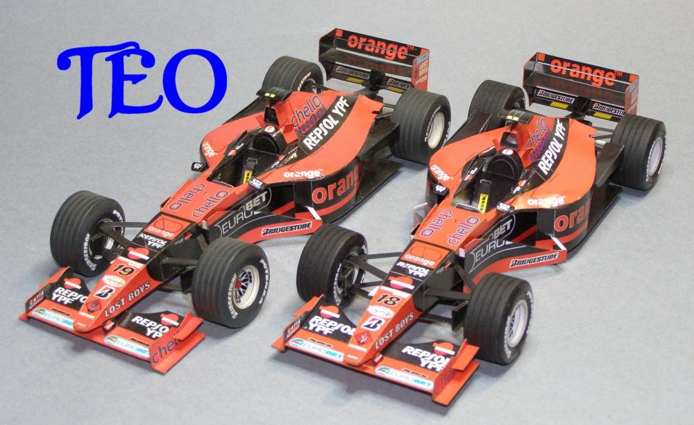 Arrows A21, 2000