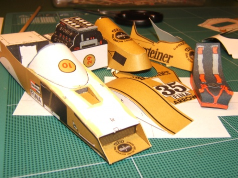 Arrows FA-1, 1979, Ricardo Patrese