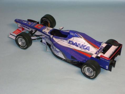 Arrows A18 - Damon Hill - GP Maďarska 1997