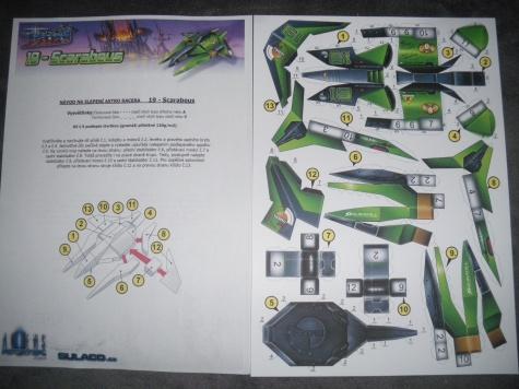 Astro Racer 19 - Scarabeus