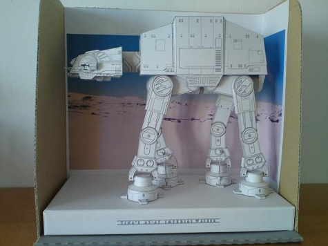 AT-AT Star Wars Imperial Walker