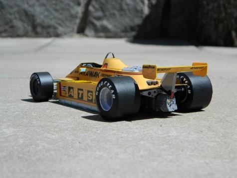 ATS D3 FORD  Marc Surer 1980