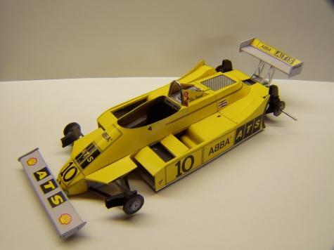 ATS D4, 1981, S. Borgudd, GP San Marina