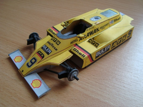 ATS D4 Ford - 1980 - Jan Lammers