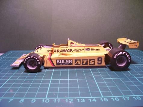 ATS D4 , Jan Lammers, GP USA, 1980