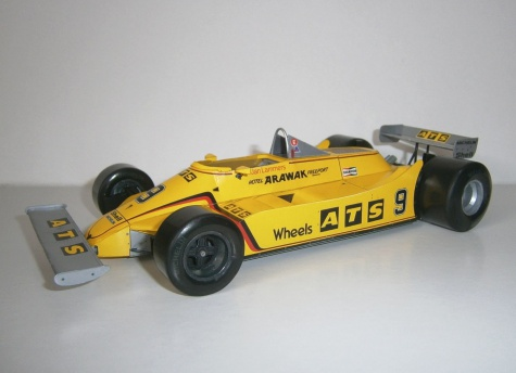 ATS D4 - Jan Lammers, Buenos Aires 1981