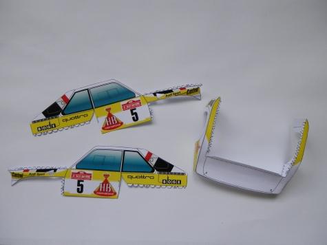 Audi S1 , rally car , group B