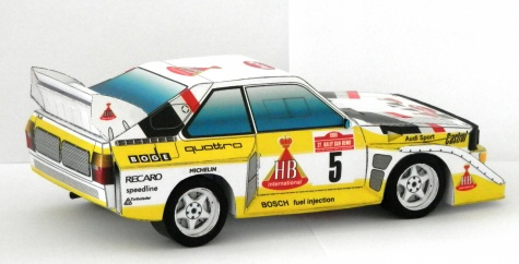 Audi S1 , rally car , group B
