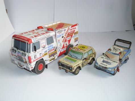 Autá z Dakaru