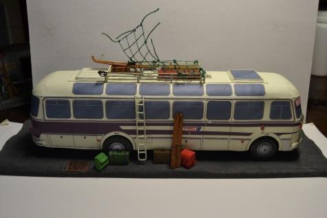 Autobus škoda 706 rto a zastavka