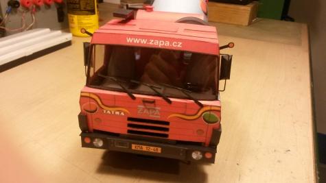 Autodomíchávač ZAPA BETON Tatra 815