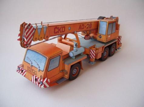 Autojeřáb AD-28