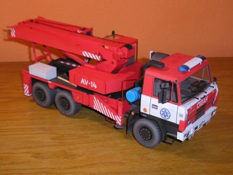 AV 14 TATRA 815 6x6 - PMHT 014