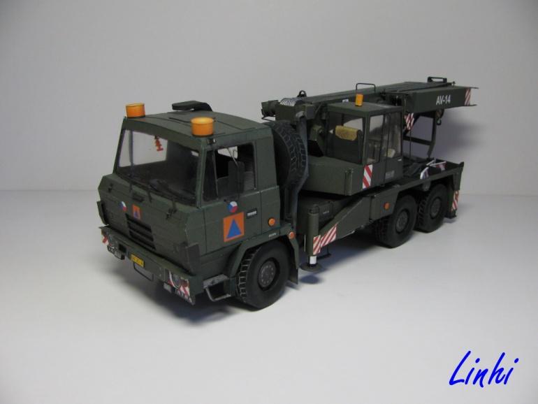 AV 14 Tatra 815 6x6 - vojenská