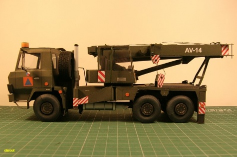 AV 14 Tatra 815 6x6 Vojenská