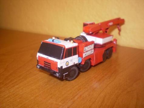 AV 15 Tatra 815 8*8 verzia Hasiči SR