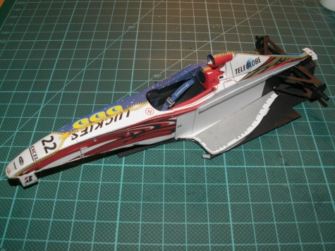 24-hodinovka 2009 - BAR 001 Supertec
