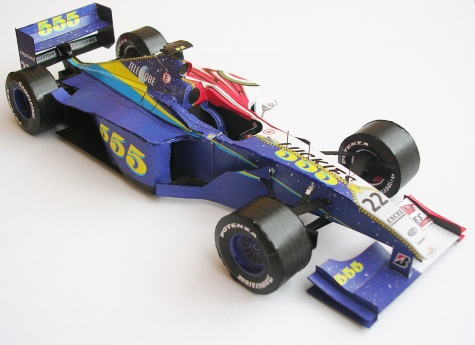 BAR 01, 1999 Jacques Villeneuve