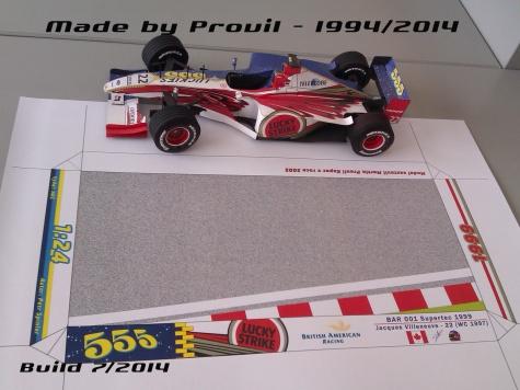 BAR 001 - (22) Jacques Villeneuve