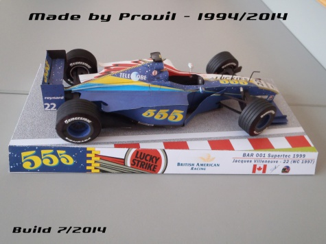 BAR 001 - (22) Jacques Villeneuve