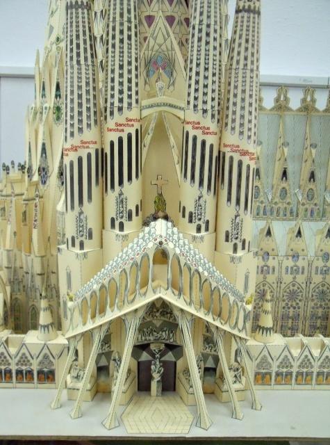 Barcelona, Kajícný chrám Svaté rodiny (Sagrada Familia)