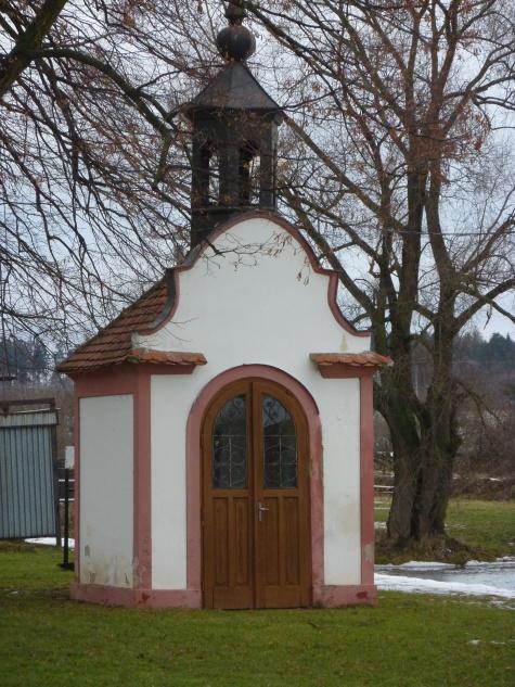 Barokní kaplička v Blatnici