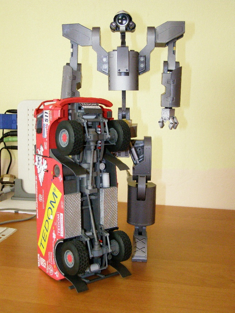 Battle type Robot