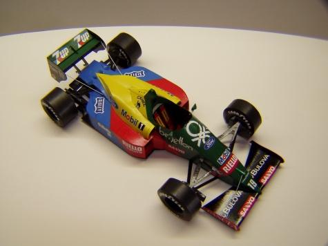 Benetton B188, 1989, A. Nannini