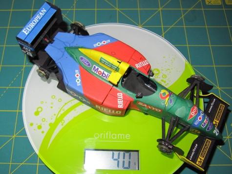 Benetton B190, Nelson Piquet