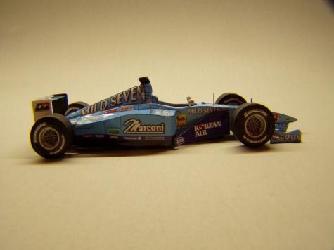 Benetton B200. 2000, G. Fisichella