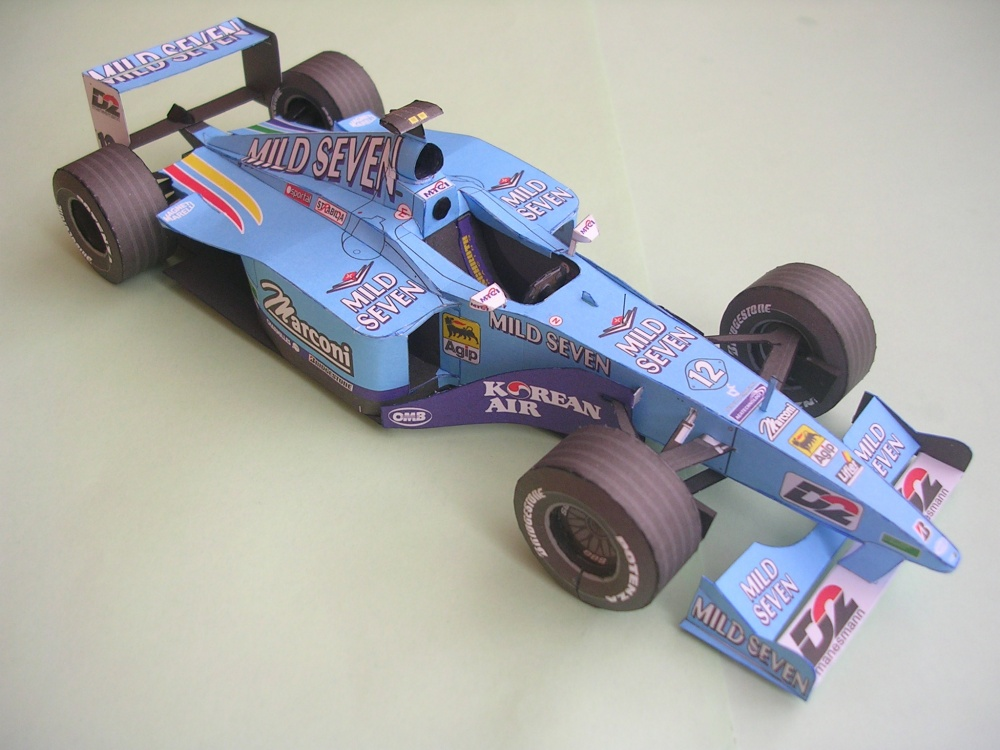 Benetton B200, 2000 Alexander Wurz