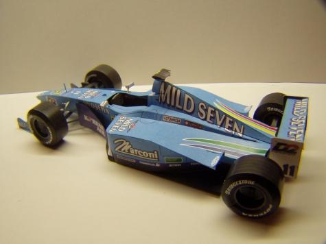 Benetton B200, 24 hodinovka