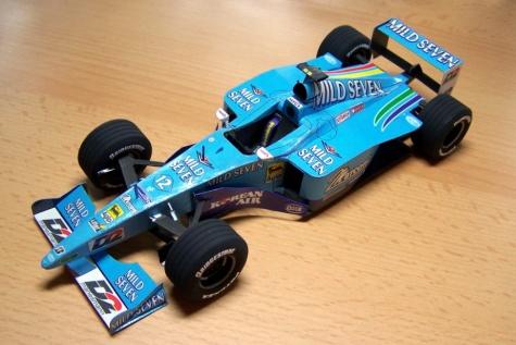 Benetton B200 Alex Wurz 2000