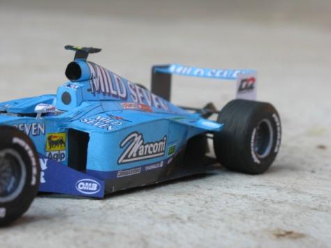 Benetton B200 G. Fisichella