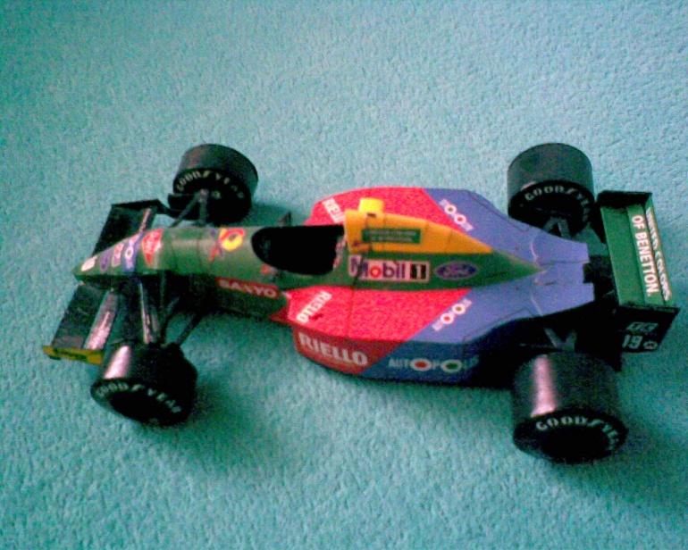 Bennetton B190 Nelson Piquet 1990