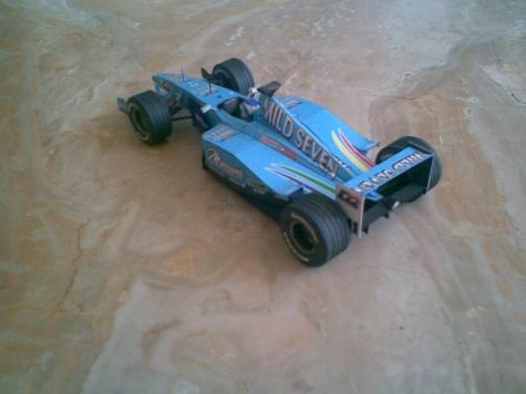 Benetton B200,Giancarlo Fisichella,2000