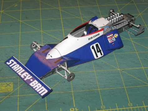BRM P201, B. Evans, 1975 - beta