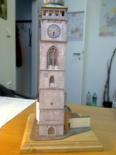 Bílá věž a kaple sv.Klimenta v Hradci Králové