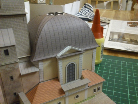 Bílá věž a kaple sv. Klimenta