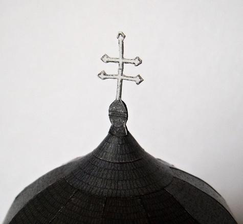 Bíňa - románská rotunda 12 apoštolů