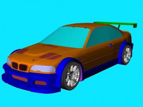 BMW M3 GTR NFS MW