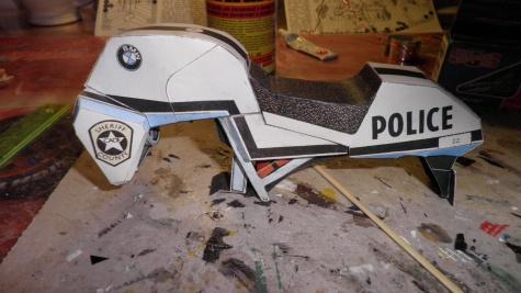 BMW K100-policie