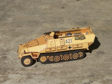 Bojová technika R a P Models 1:87