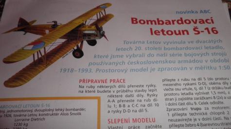 Bombardovací letoun Š-16