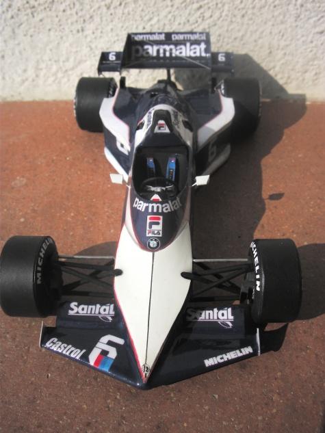 Brabham  BT52B, Ricardo Patrese, GP  JAR, 1983