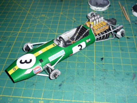 Brabham BT 26 - Jack Brabham - GP Mexiko 68