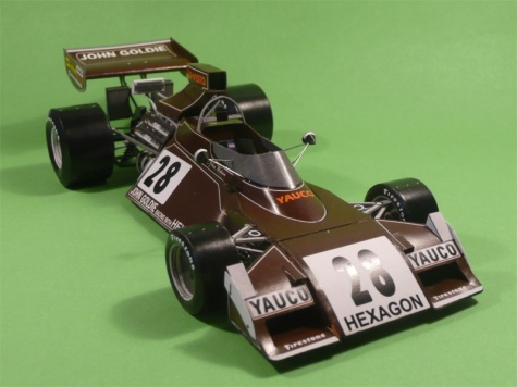 Brabham BT42 VC Brazilie 1974