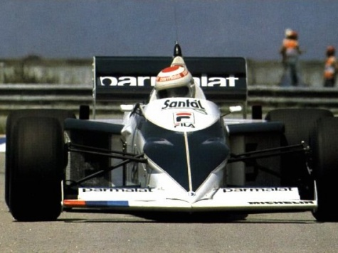 Brabham BT 52 BMW, N.Piquet, GP Brazil 1983