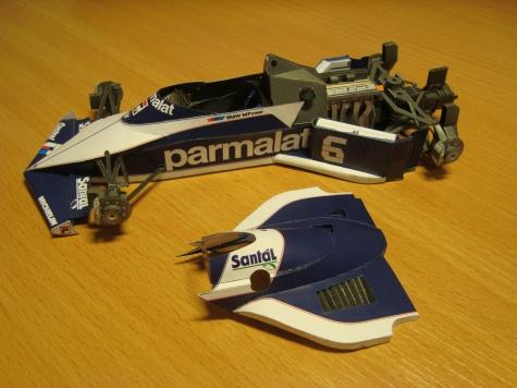 Brabham BT 52B - 1983 - Riccardo Patrese