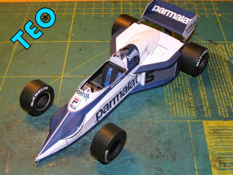 Brabham BT 52B BMW, 1983, N.Piquet